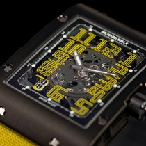 Richard Mille Titanium 38mm Automatic RM 016 DLC