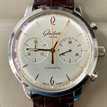 Glashütte Original Sixties Chronograph Steel 42mm Silver Arabic numerals