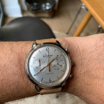 Glashütte Original Sixties Chronograph Steel 42mm Silver Arabic numerals United Kingdom, Brighton
