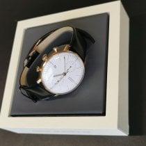 Junghans Gelbgold Automatik Weiß Arabisch 40mm neu max bill Chronoscope