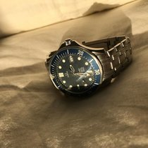 Omega Seamaster Diver 300 M Steel 41mm Blue No numerals United States of America, New York, New York