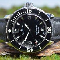 Blancpain Fifty Fathoms Acero 45mm Negro