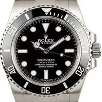 Rolex Submariner (No Date) Acero 40mm Negro España
