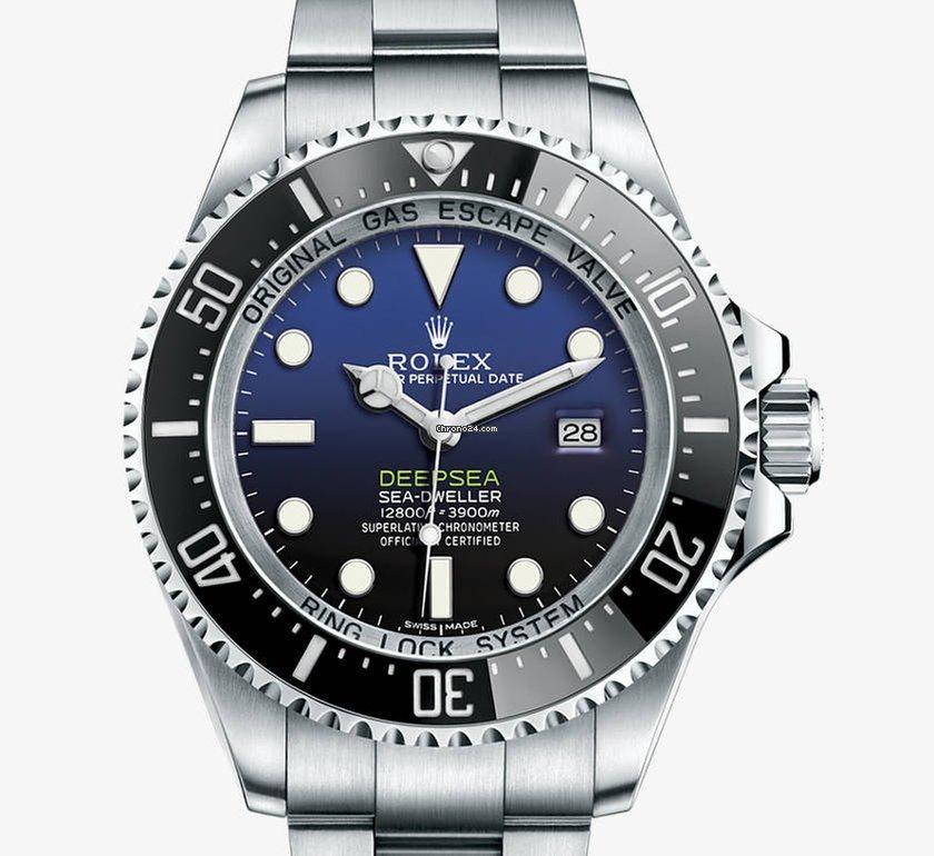 Rolex Sea-Dweller Deepsea 116660 2018 nuevo