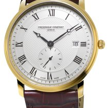 Frederique Constant Slimline Gents Steel 39mm Silver