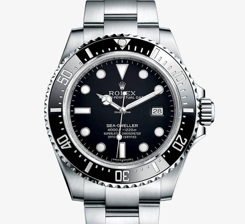 Rolex Sea-Dweller 4000 116600 2015 nuevo