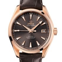 Omega Red gold Automatic Brown 41.5mm new Seamaster Aqua Terra