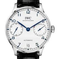 IWC Portuguese Automatic ny 2021 Automatisk Klocka med originallåda och originalhandlingar IW500705