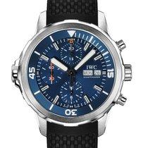 IWC Aquatimer Chronograph Acero 44mm Azul España