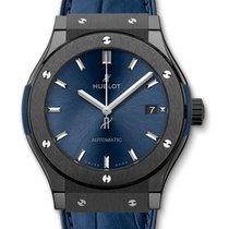 Hublot Classic Fusion Blue nuevo 2018 Automático Reloj con estuche y documentos originales 565.CM.7170.LR