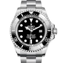 Rolex Sea-Dweller Deepsea Acero 44mm Negro Sin cifras España