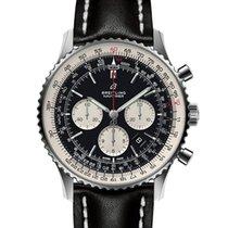 Breitling Navitimer 01 (46 MM) новые 2021 Автоподзавод Хронограф Часы с оригинальными документами и коробкой AB0127211B1X1