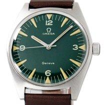 Omega Genève Steel 34mm Green Arabic numerals United States of America, Utah, Draper