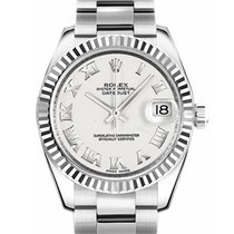 Rolex Lady-Datejust Acero 31mm Blanco Romanos España