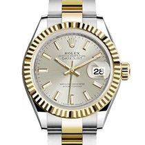 Rolex Lady-Datejust Acero y oro 28mm Plata Sin cifras España
