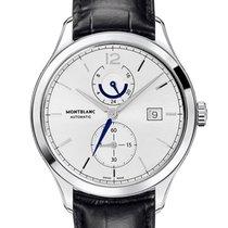 Montblanc Heritage Chronométrie Steel 43mm Silver Arabic numerals