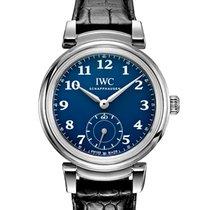 IWC Da Vinci Automatic Acero 40.4mm Azul Arábigos España