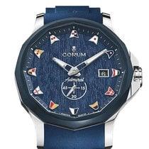 Corum Admiral's Cup Legend 42 nowość 2021 Automatyczny Zegarek z oryginalnym pudełkiem i oryginalnymi dokumentami 395.101.22/F373 WB12