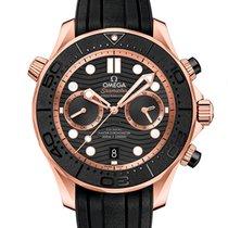 Omega 210.62.44.51.01.001 Rose gold 2021 Seamaster Diver 300 M 44mm new