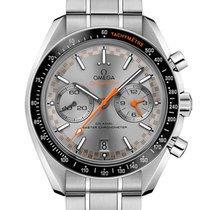Omega Speedmaster Racing nuevo 2021 Automático Cronógrafo Reloj con estuche y documentos originales 329.30.44.51.06.001