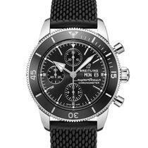 Breitling Superocean Heritage Chronograph Acero 44mm Negro Sin cifras España