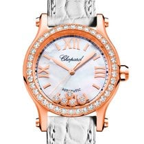 Chopard 274893-5010 Rose gold 2021 Happy Sport 30mm new