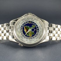 Patek Philippe 5131G-001 White gold 2010 World Time 39mm pre-owned