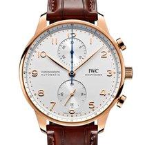 IWC Portuguese Chronograph Oro rosa 41mm Plata Arábigos España