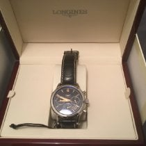 Longines Column-Wheel Chronograph pre-owned 41mm Black
