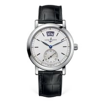 Ulysse Nardin Steel Automatic White Roman numerals 37mm pre-owned San Marco Big Date