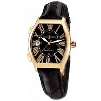 Ulysse Nardin Rose gold Automatic Black 43mm pre-owned Michelangelo