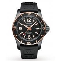 Breitling Steel Automatic Black Arabic numerals 46mm new Superocean