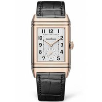 Jaeger-LeCoultre Reverso Duoface Rose gold 47mm Silver Arabic numerals