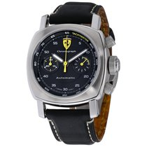 Panerai Ferrari Steel 40mm Black No numerals United States of America, New York, Greenvale