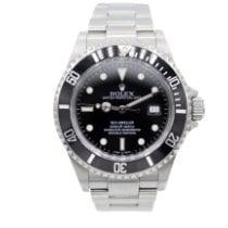 Rolex Sea-Dweller 4000 Steel 40mm Black No numerals United States of America, New York, New York