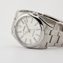 Rolex Oyster Perpetual 39 Steel 39mm White No numerals United States of America, New Jersey, Oradell
