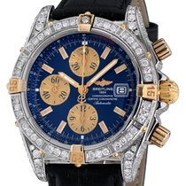 Breitling Chronomat Evolution Steel 44mm Blue No numerals United States of America, New York, NEW YORK CITY