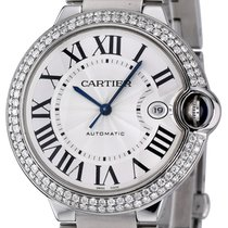 Cartier Ballon Bleu 42mm Steel 42mm Silver Roman numerals United States of America, New York, NEW YORK CITY