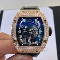 Richard Mille RM 010 Rose gold 48mm Transparent Arabic numerals United States of America, New York, Manhattan
