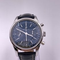 Breitling Transocean Chronograph Steel 43mm Blue United States of America, Florida, Coconut Creek