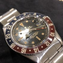 Rolex GMT-Master Steel 38mm Black No numerals