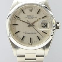Rolex 1500 Steel 1971 Oyster Perpetual Date 34mm pre-owned United Kingdom, London