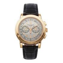 Patek Philippe Chronograph Oro rosa 42mm Plata Arábigos