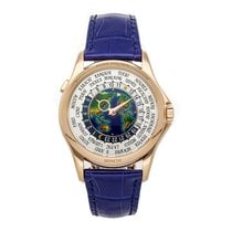 Patek Philippe World Time Rose gold 39.5mm Arabic numerals United States of America, Pennsylvania, Bala Cynwyd