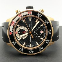 IWC Aquatimer Chronograph Rose gold 44mm Black No numerals