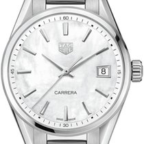 TAG Heuer Women's watch Carrera Lady 36mm Quartz new Watch with original box and original papers 2020