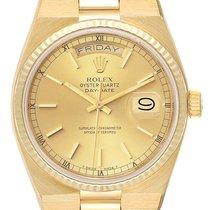 Rolex 19018 Oro amarillo 1983 Day-Date Oysterquartz 36mm usados
