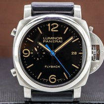 Panerai Luminor 1950 3 Days Chrono Flyback Steel 44mm Black United States of America, Massachusetts, Boston