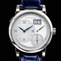 A. Lange & Söhne Lange 1 White gold Silver United States of America, Massachusetts, Boston
