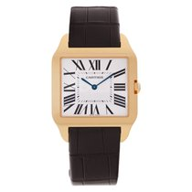 Cartier Santos Dumont Rose gold 35mm Silver Roman numerals United States of America, Florida, Surfside